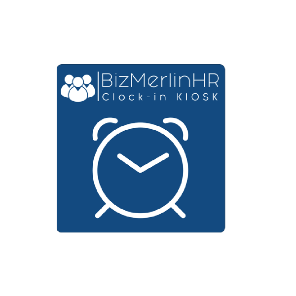 BizMerlinHR Clock in Kiosk